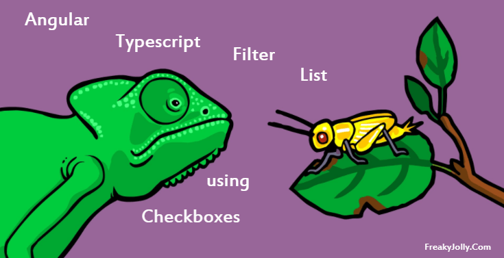 Angular 4/5 + Typescript: Create Filter List with Check-boxes to Select from List