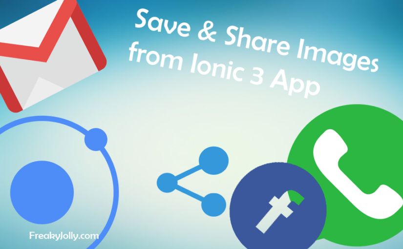 Ionic 3 Share and Save Images from Application's Assets Folder to