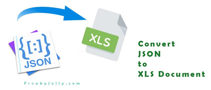 Create and Download XLS Excel From JSON Response Data in Webpage Using Javascript