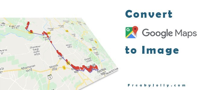 Convert Google Map into Image with Markers and Paths.