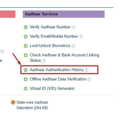 How to Check Where Your Aadhaar Number Details are Getting Used