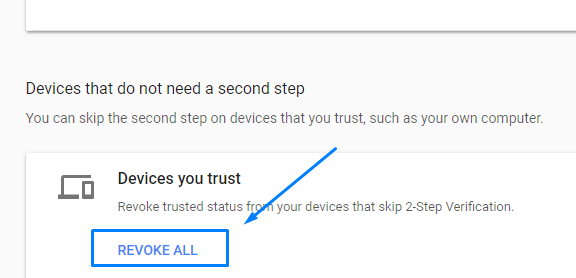 How to Remove Trusted Devices from Google Gmail Account?