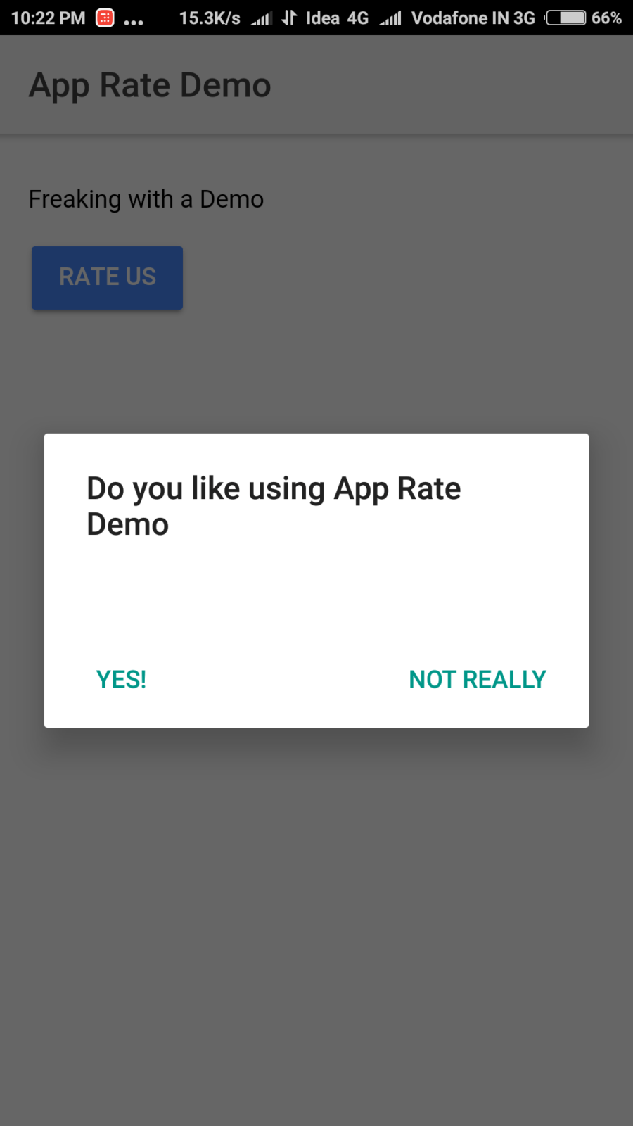 Ionic 4/5 – Add App Rating ( Rate Us 5 Stars ) Popup in Ionic 5 Application