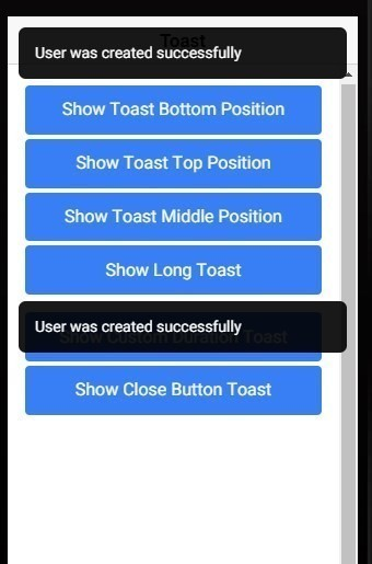 Ionic 3 | Toast Not Hiding Issue using Toast Controller Workaround!