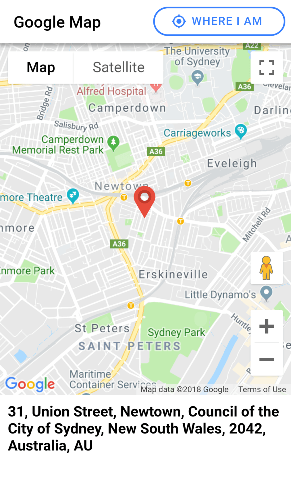 Ionic 4 | Add Google Maps JavaScript API, Geolocation and ... on satellite view of an addresses, map that shows street addresses, maps with addresses,