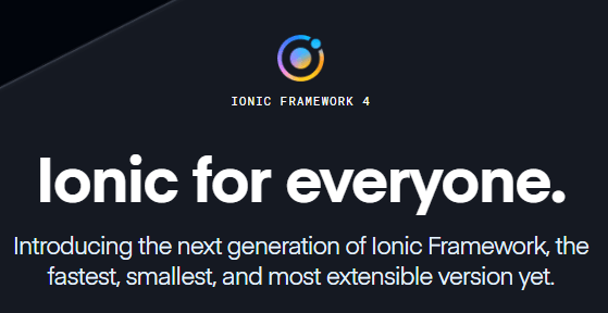 What's New ? Ionic 4 Stable Release is Here!
