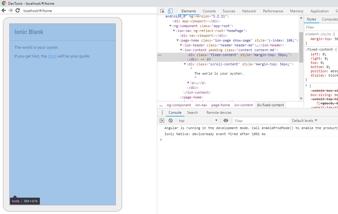 How to Debug Ionic/ Hybrid Application in Chrome Browser in 2 Steps