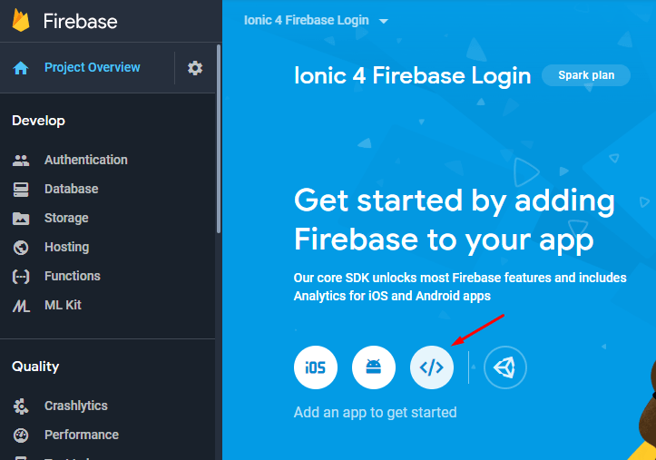 Angular 7/6 Firebase Login with Email & Google / Gmail
