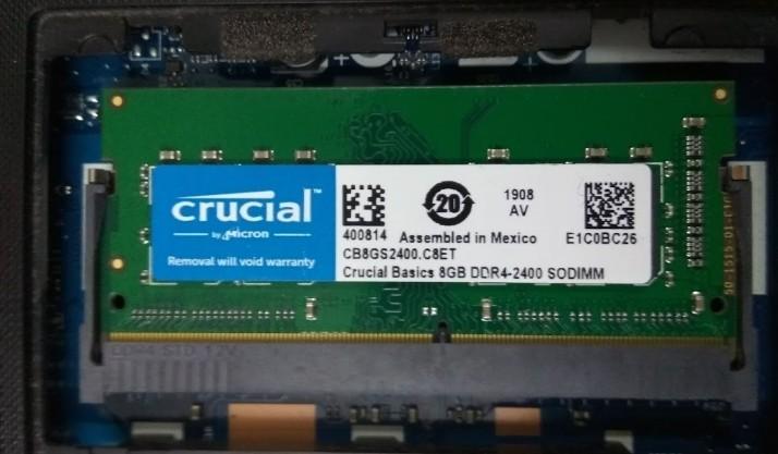 How I upgraded Lenovo Ideapad 310 RAM from 4GB to 12GB