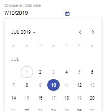 Angular Material 9|8 Datepicker Tutorial with Examples
