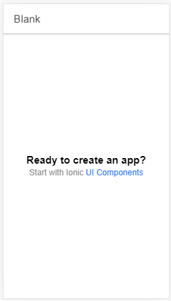Ionic 5 React Application Tutorial