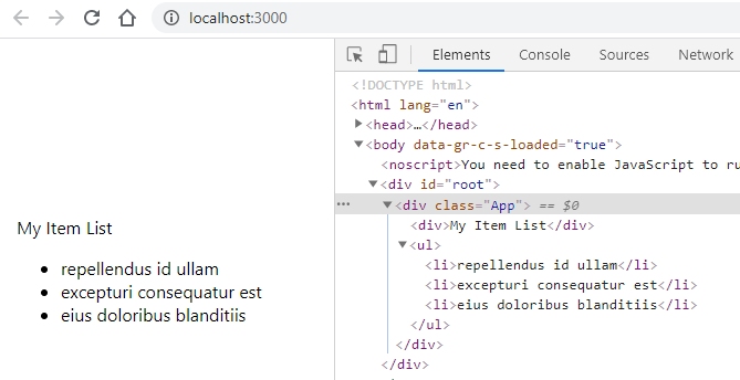 React Dynamic List using map() & If;Else and Switch Conditional Expression in JSX Template Rendering