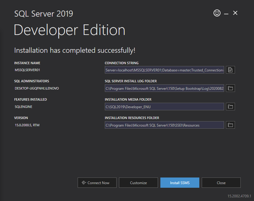 Download/ Install SQL Server 2019 Free/ Community Edition for Windows 10 Step by Step