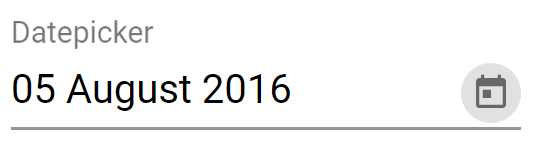 Angular Material Datepicker Change Date Format (12 December 2015 ) of Selected Date