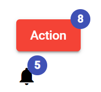 Angular Material 10|9 Notification Badge Numbers with Customization Tutorial